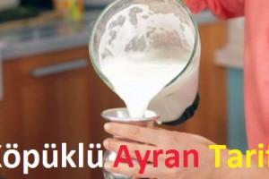 Köpüklü Ayran Tarifi
