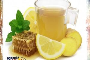 Şifalı Nane Limon Çayı