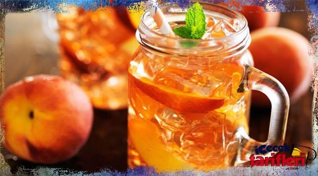 Şeftalili Soğuk Çay