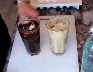 Evde Iced Americano ve Iced Latte Yapımı