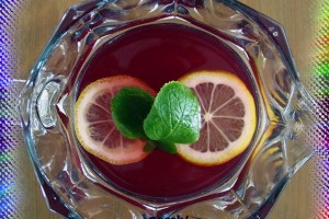 Limonlu Nar Şerbeti