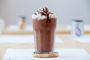 Sütlü, Çikolata Parçacıklı Frozen