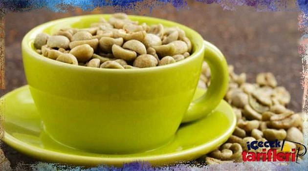 Yeşil Kahve Tarifi ile Kilo Verme