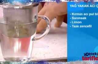 Yağ Yakan Çay Tarifi