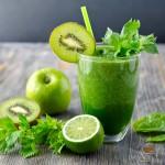 Yeşil Elmalı Salıklı Sporcu İçeceği