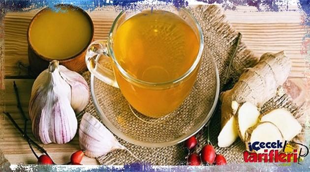Zayıflatan Mucizevi Sarımsak Çayı