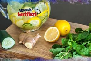Limonlu, Salatalık Ve Zencefil