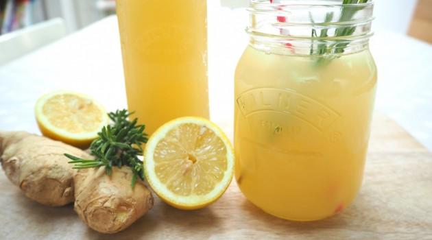Limonlu Zencefil Suyu Nasıl Yapılır?