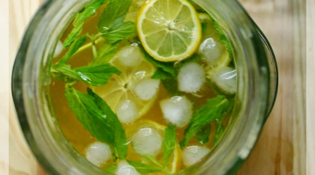 Buzlu Tarçınlı Yeşil Çay