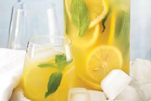 Evde Naneli Limonata Yapımı