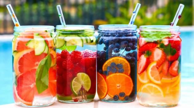 Dondurulmuş Meyveli Su