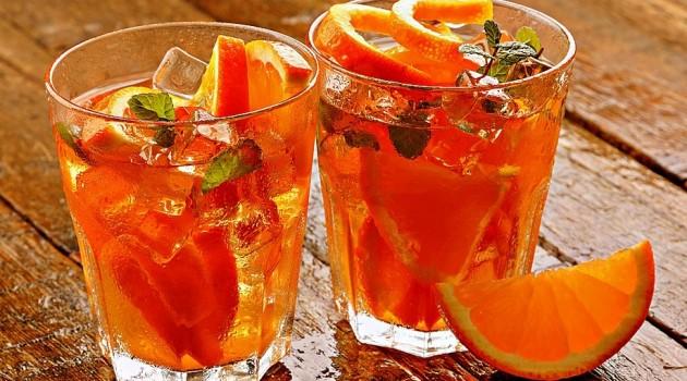 Portakallı Buzlu Çay